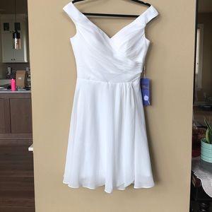 NWT custom made ivory dress